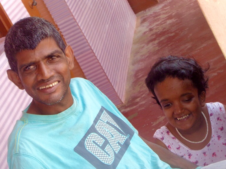 shuktara - Sunil and Moni in Puri