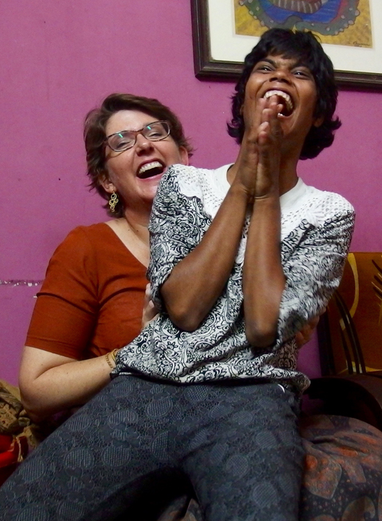 2015 Kali Puja - shuktara Lula Bari  - Louise and Muniya