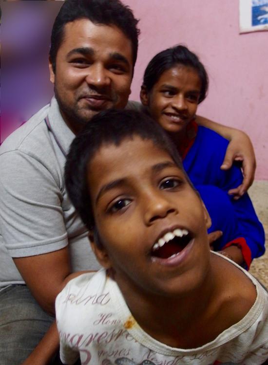 2015 Kali Puja - shuktara Lula Bari  - Guria, Pappu and Lali