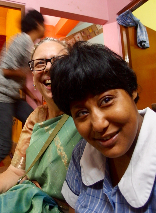 2015 Kali Puja - shuktara Lula Bari  - Alison and Muniya