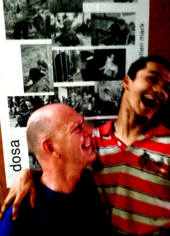 shuktara - 2016-03-30 - David and Ashok laughing