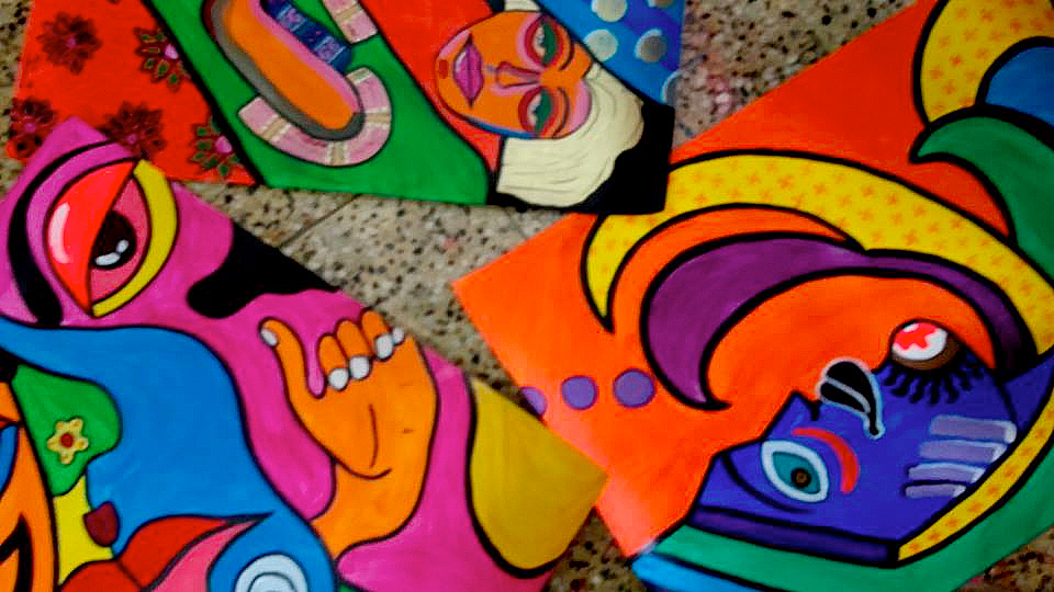 shuktara May 2016 - Raja's new paintings