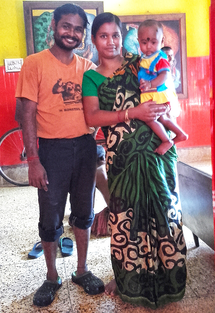 shuktara home for young people with disability - 2016 September - Sanjay, his wife Munni and daughter Sumi