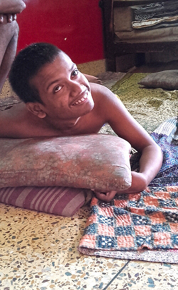 shuktara home for young people with disability - 2016 September - Subhash