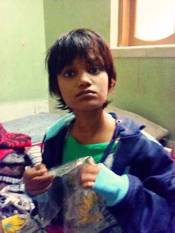 shuktara home for disabled girls - 2016 December - Puja Bagh