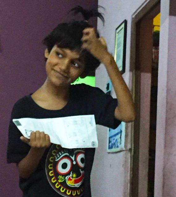 shuktara home for disabled girls - Puja