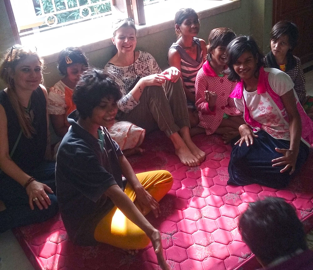 shuktara home for disabled girls - 2017 January - Opera Tavern visit to Lula Bari