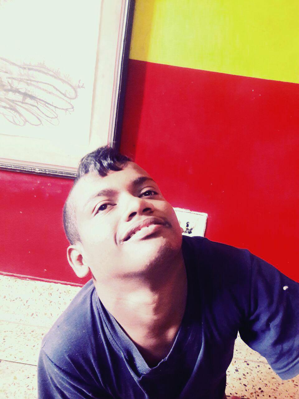 shuktara home for young people with disabilities - 2017 January - Subhash smiling