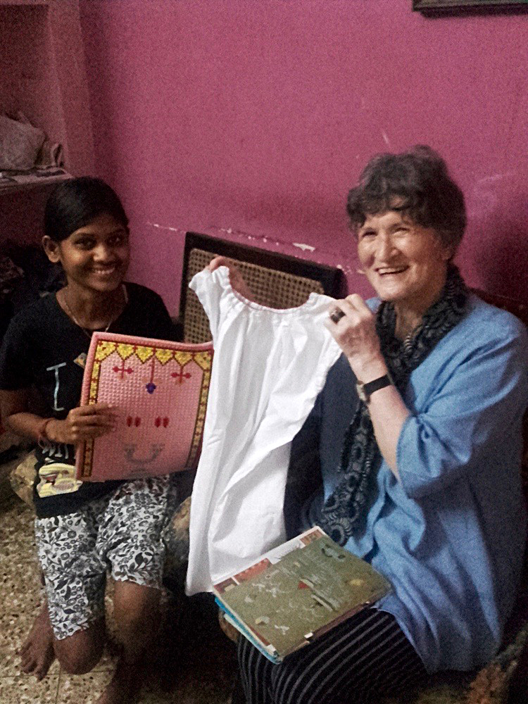 shuktara home for young adults with disability - 2017 February - Ipshita and Sheila