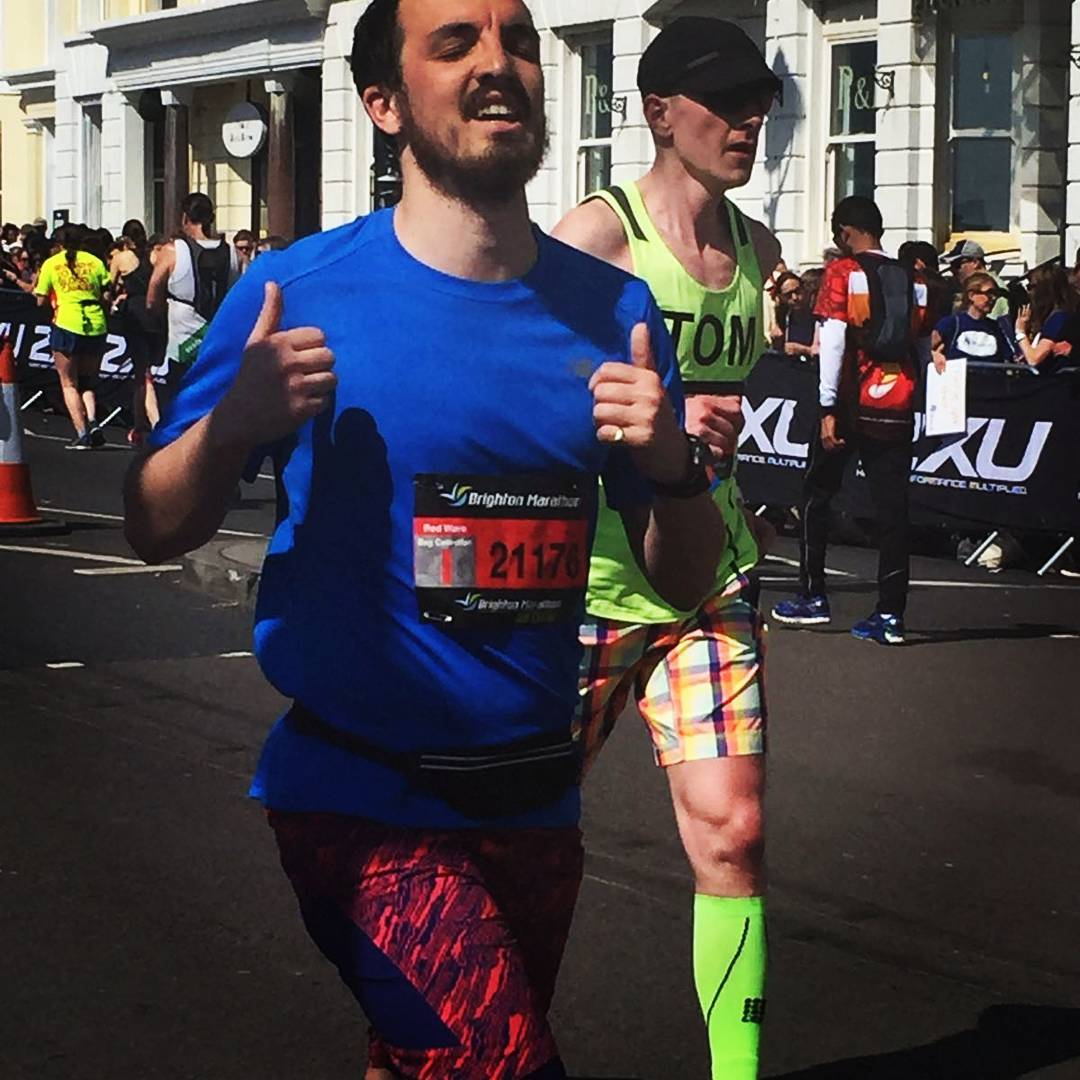 shuktara home for young people with disabilities - Tom Ingoldby 2017 Brighton Marathon for shuktara - running for shuktara