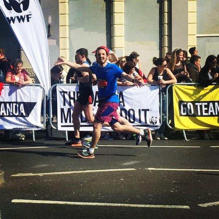 shuktara home for young people with disabilities - Tom Ingoldby 2017 Brighton Marathon for shuktara - running for shuktara
