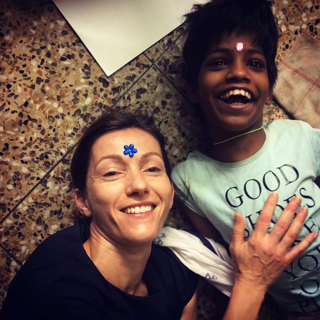 shuktara home for girls with disabilities - 2017 June - Judith with Guria