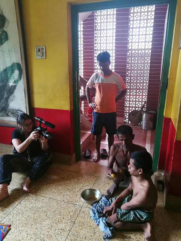 2017 August - Raegan Hodge of Yep! Films shoots at the shuktara boys home
