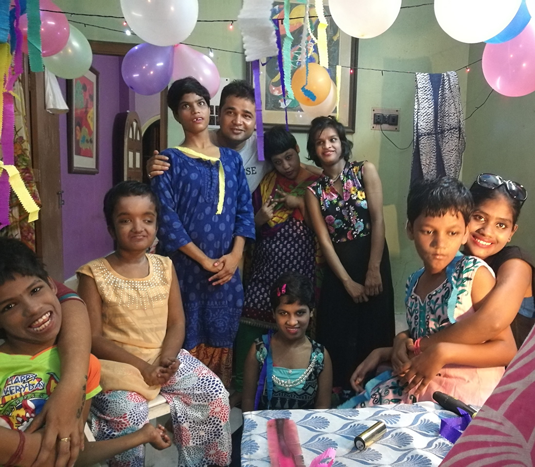 2017 August - Yep! Films wrap party with all the shuktara girls and Pappu
