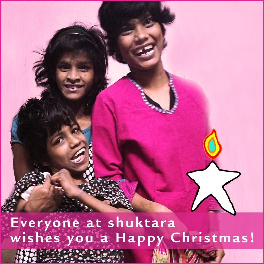 2017 Happy Christmas from shuktara