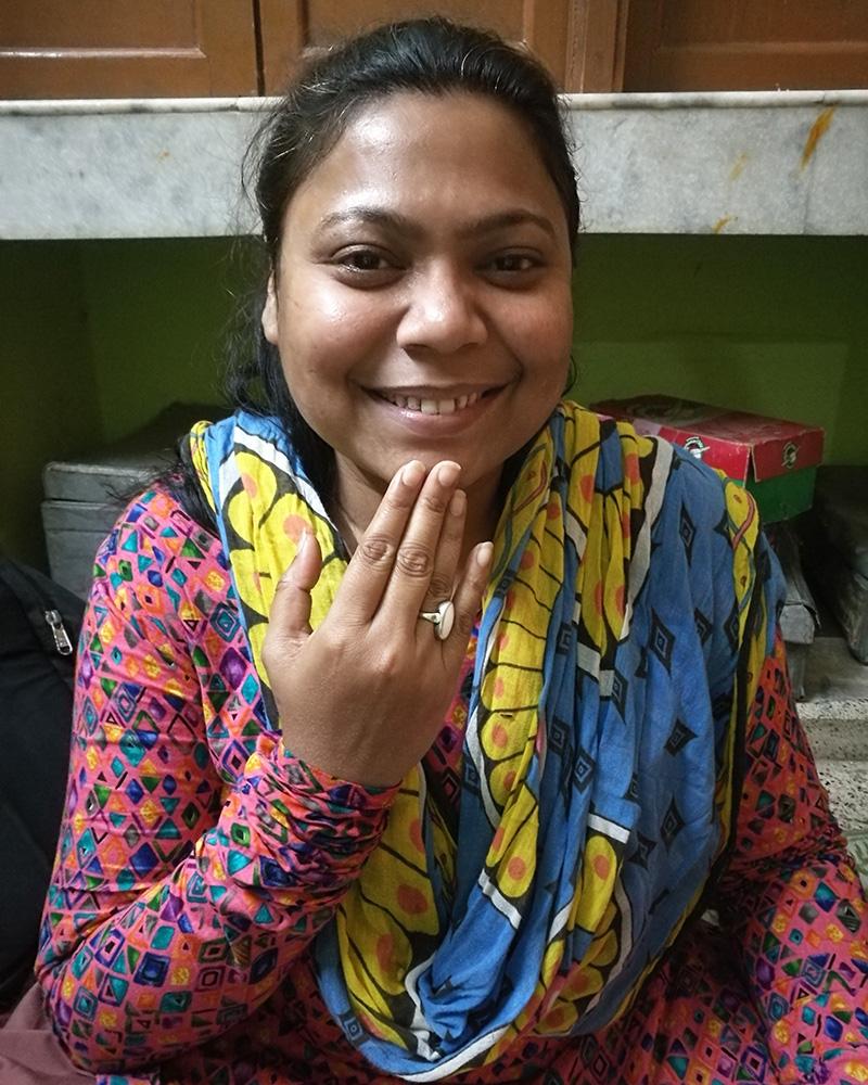 shuktara home for disabled girls - 2018 February - Priyanka, the girls' tutor