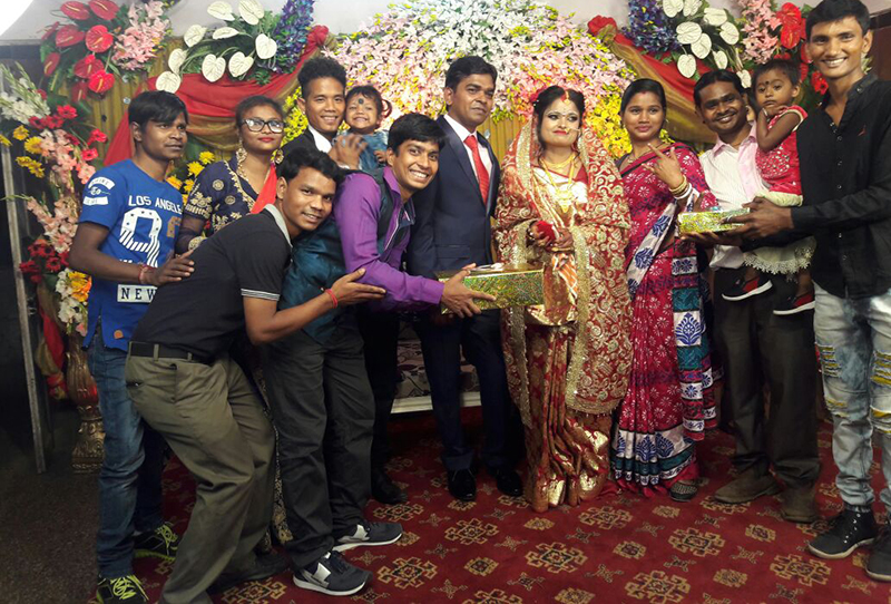 shuktara attends Sanjib's marriage