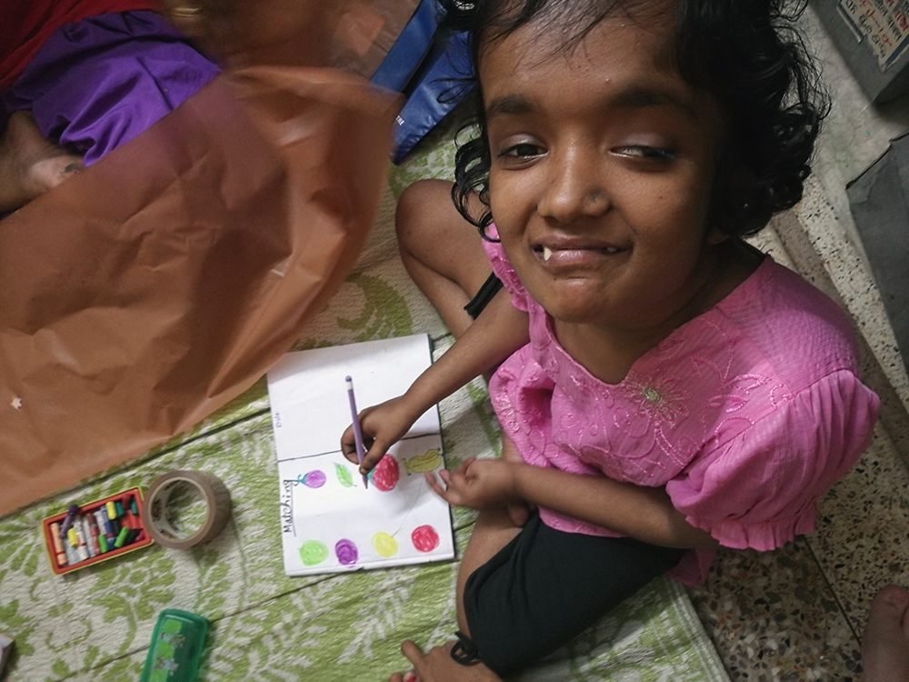 shuktara home for young people with disabilities - Moni