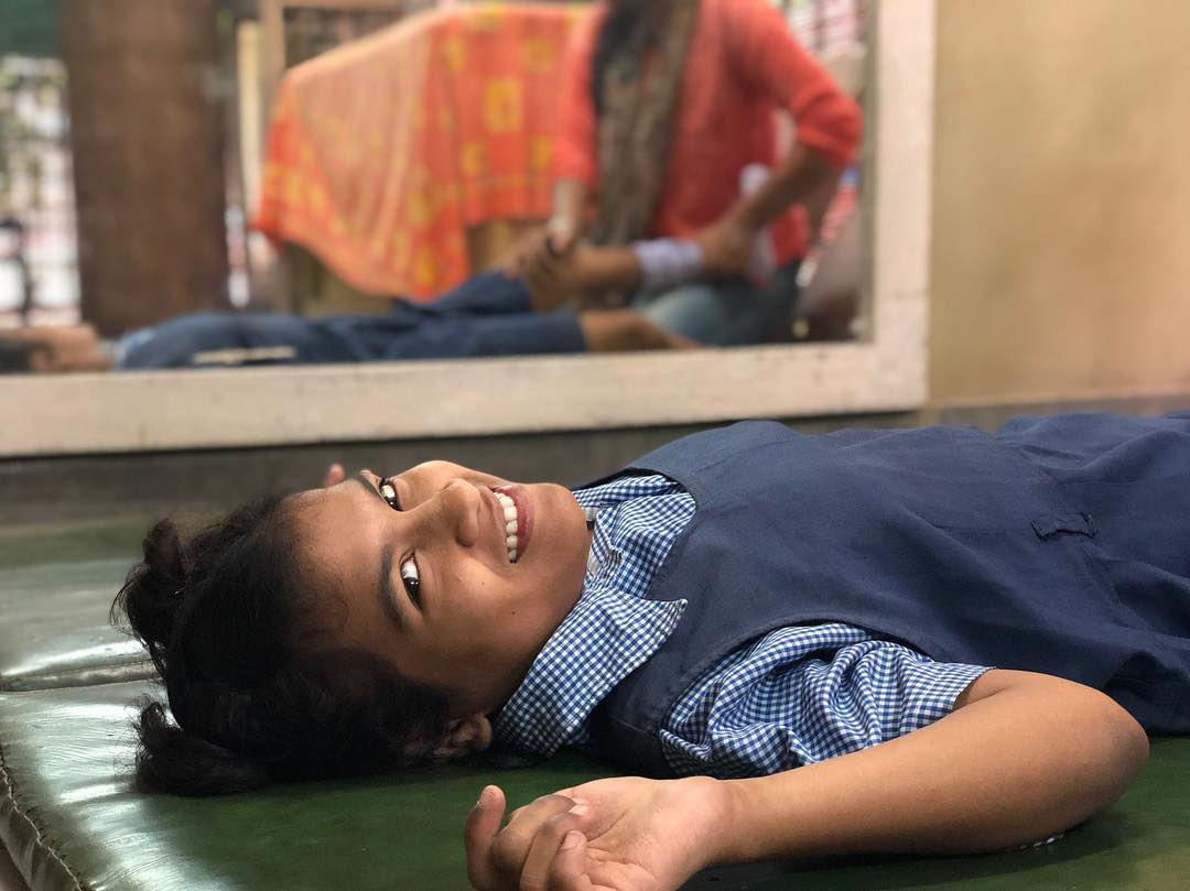 shuktara home for disabled girls - Prity at REACH