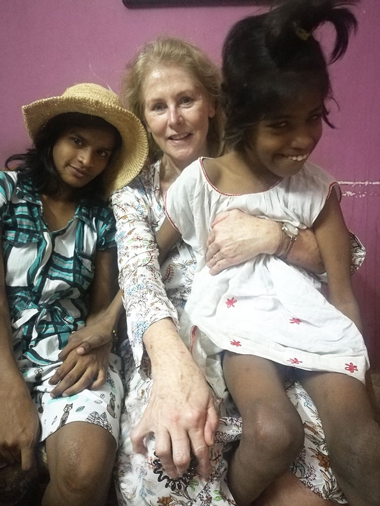 shuktara - 2018 April - Suellen Dainty with Lali and Guria