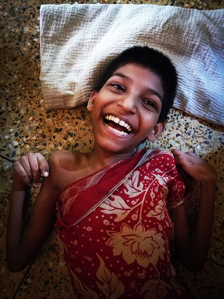 shuktara home for young people with disabilities - 2018 May - Aakash smiling radiantly