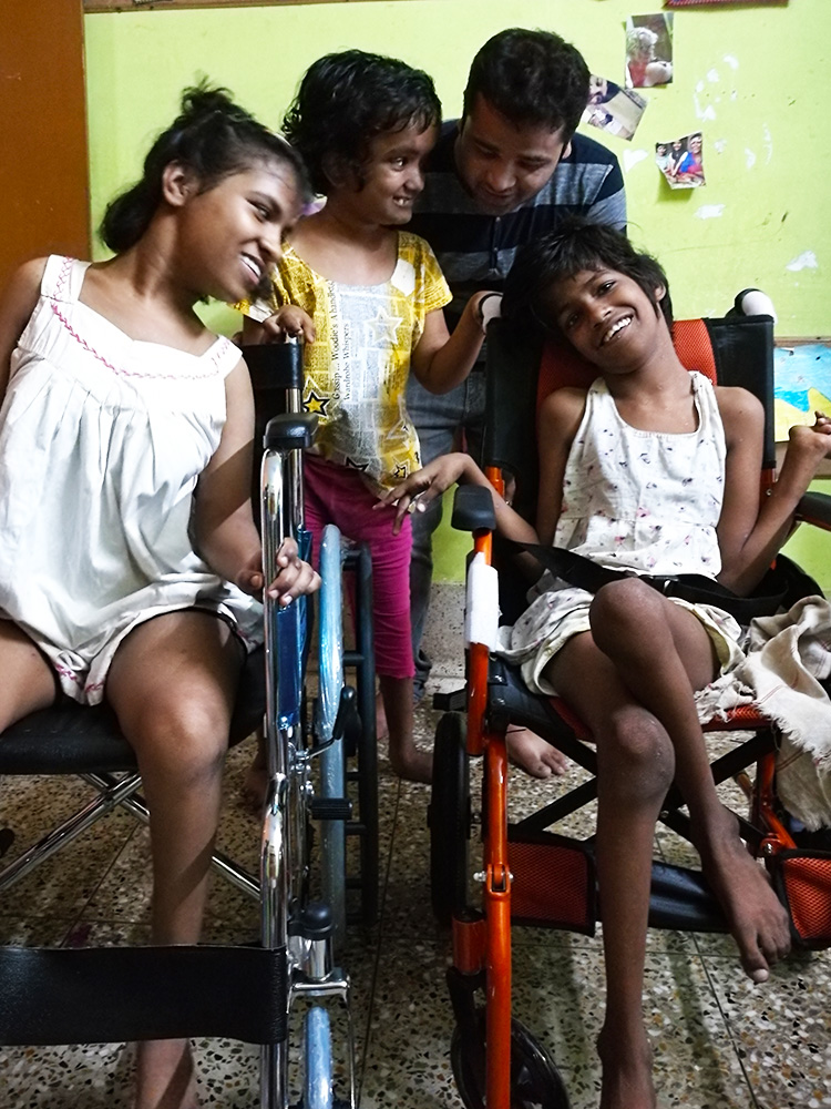 Lula Bari home for girls with disability