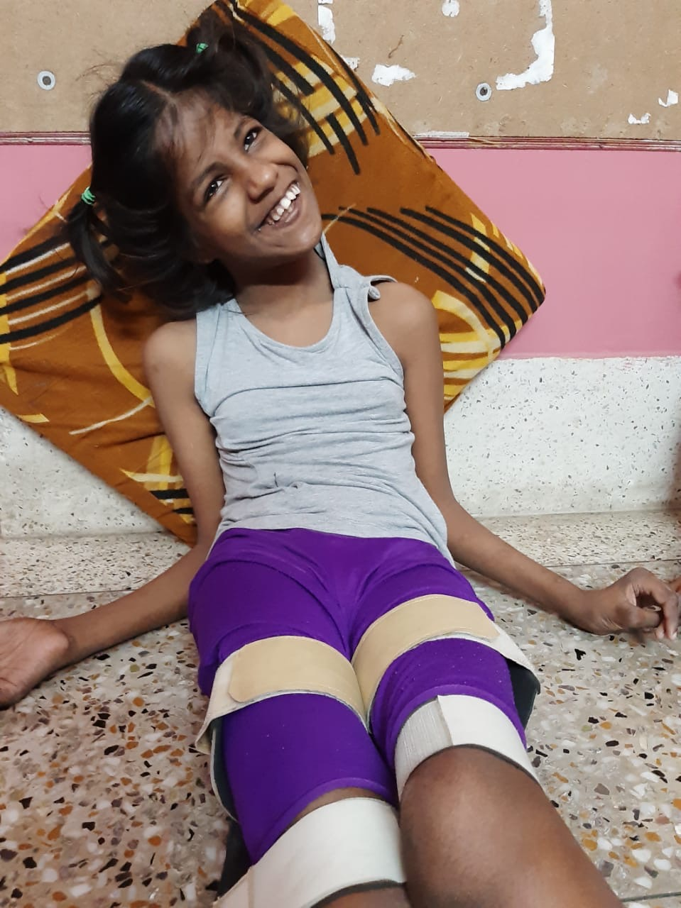 shuktara homes - Guria in her braces