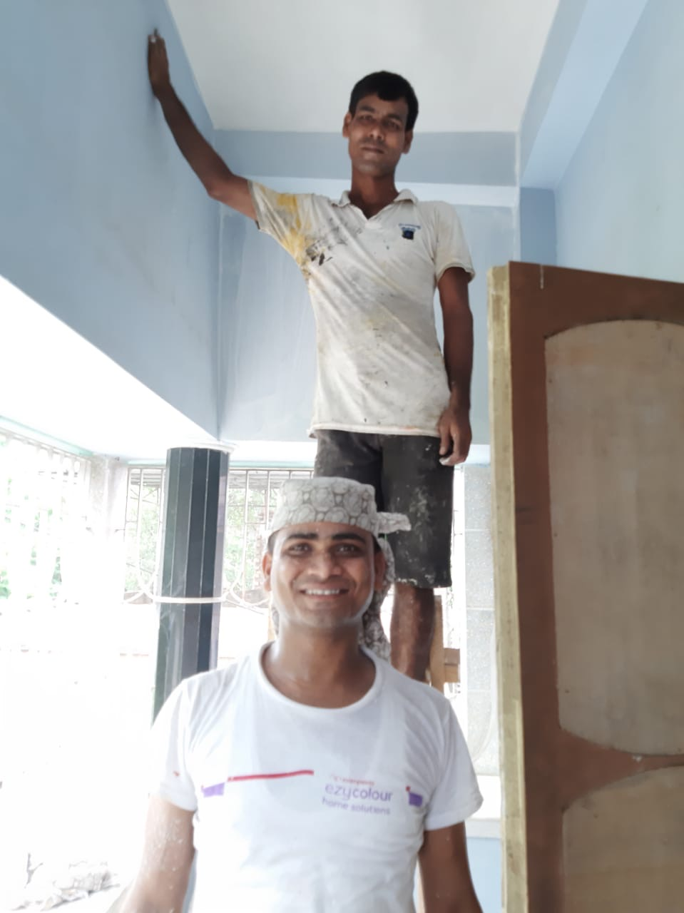 shuktara - prepping the walls