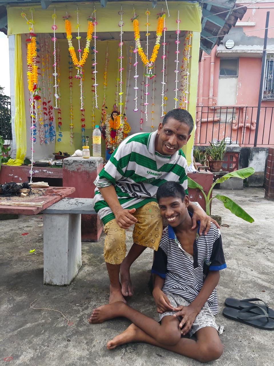shuktara - 2019 Vishwakarma Puja - Bablu and Bappa