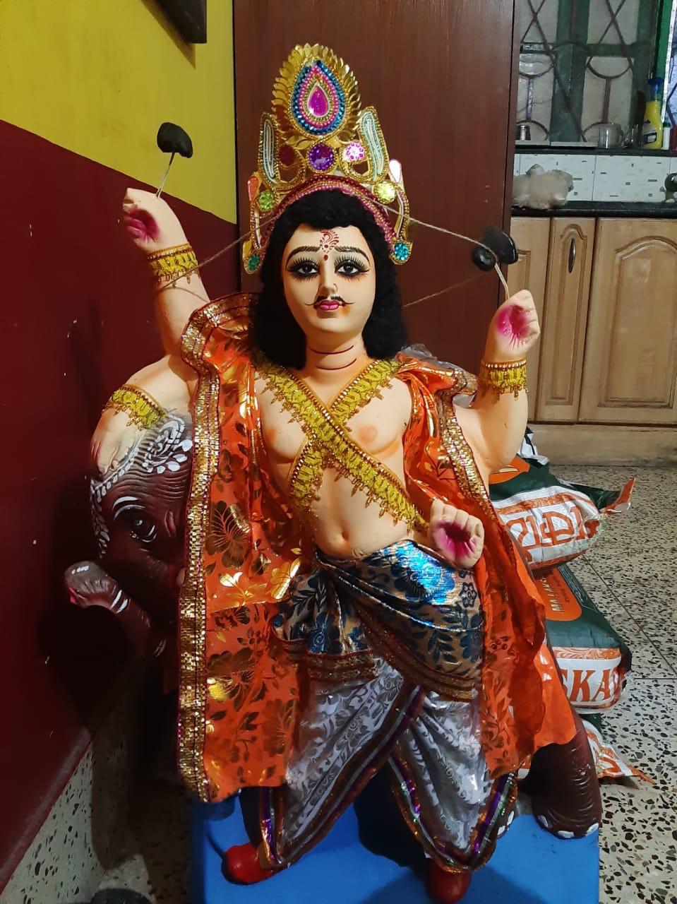 shuktara - 2019 Vishwakarma Puja - the god himself