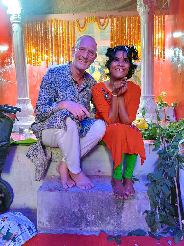 shuktara Jagadhatri Puja - David and Tamina