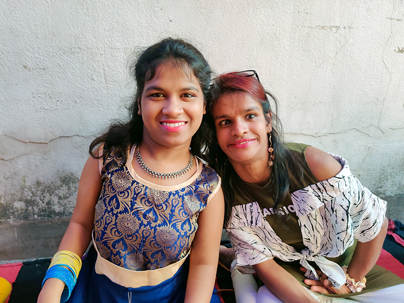 shuktara Jagadhatri Puja - Prity and Lali