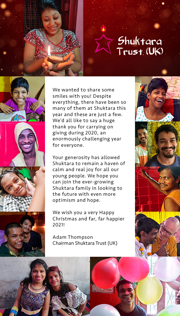Seasons Greetings from Shuktara