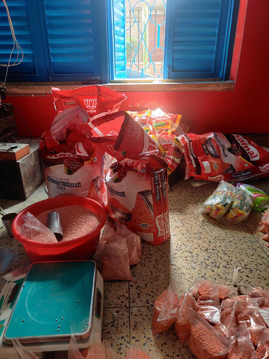 shuktara helps a village during lockdown after cyclone Yash