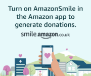Donate through AmazonSmile in your Amazon app
