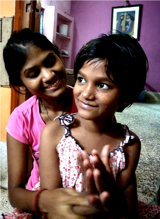 shuktara home for girls with disabilities - 2017 March - Ipshita and Puja