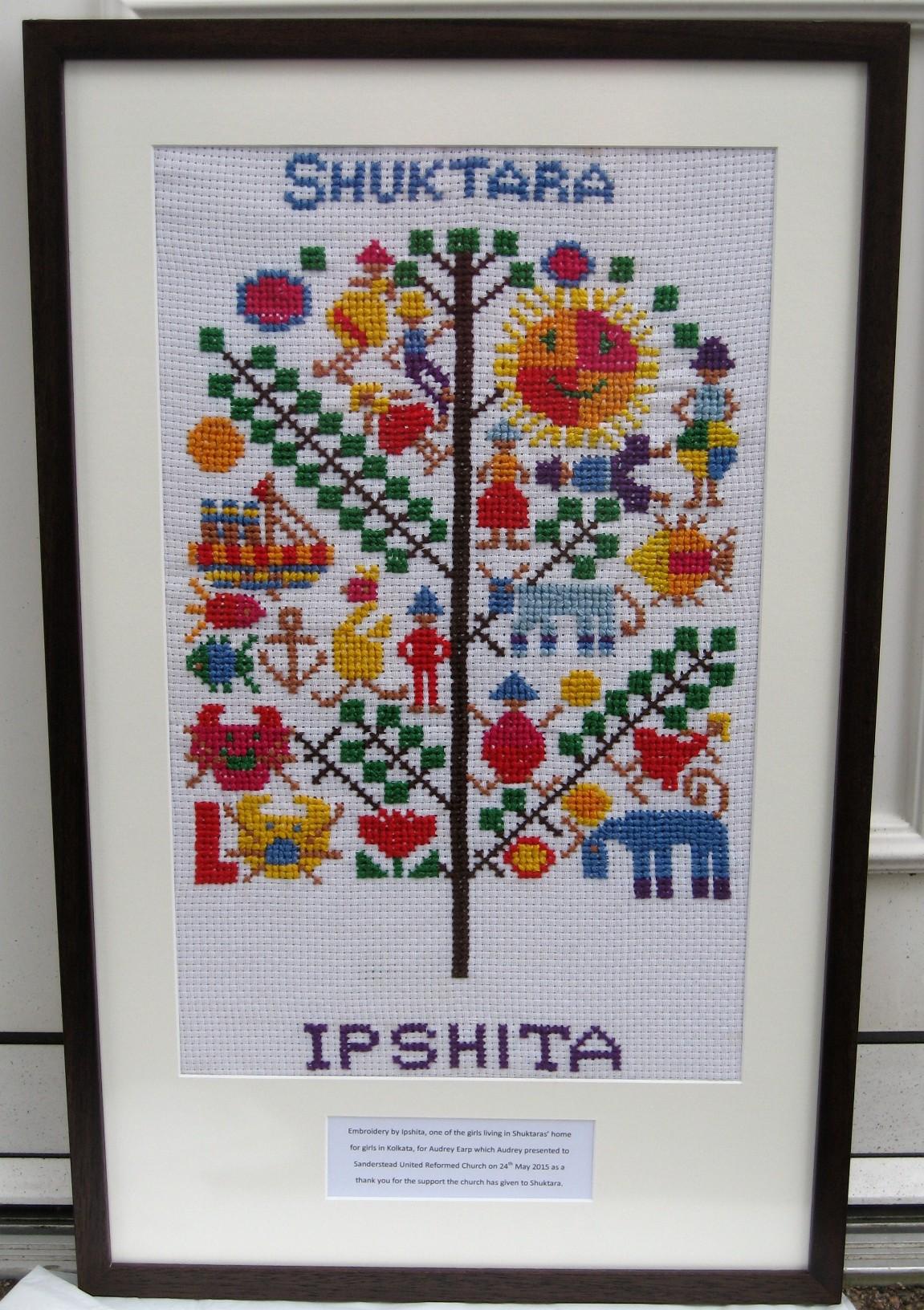 shuktara - Ipshita's embroidery tapestry