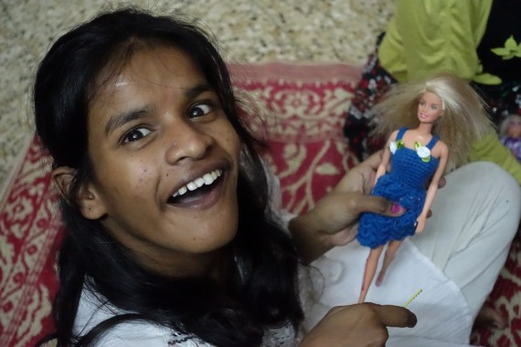 shuktara - Lali and her doll Daphne