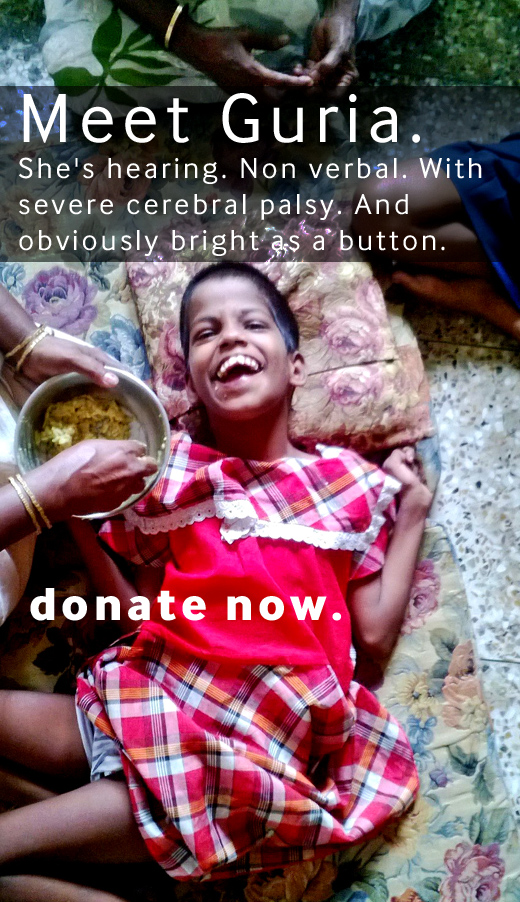 Help Guria - donate now!