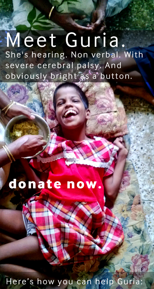Help Guria - donate now!