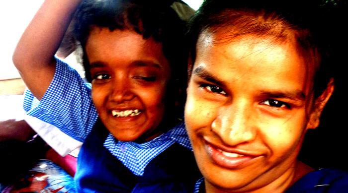 shuktara - Moni goes to school with Lali