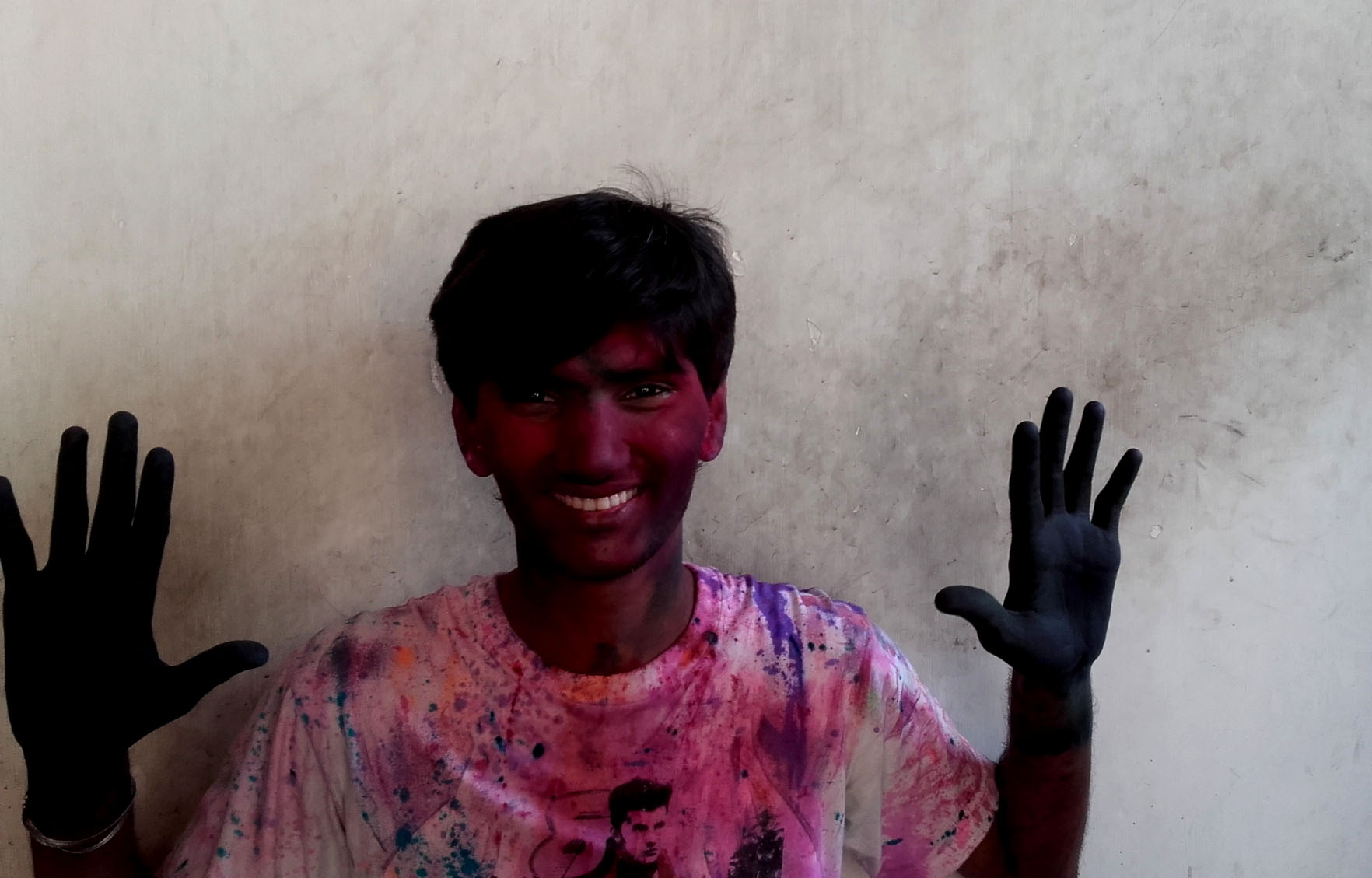 shuktara - Pinku on Holi