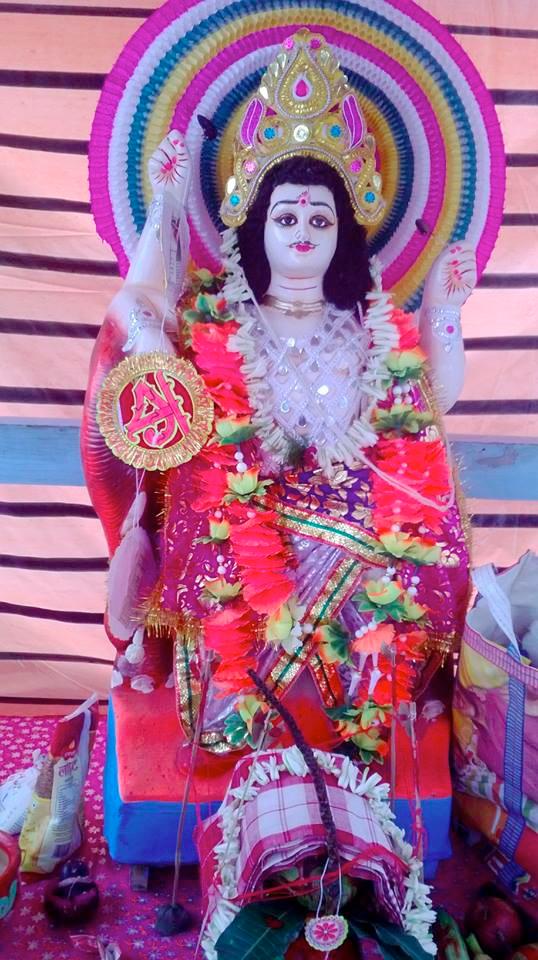 shuktara - Deity Vishwakarma Puja 2015