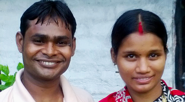 shuktara - Sanjay and his wife June 2015
