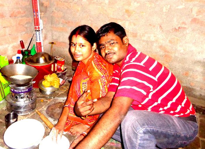 shuktara - Sanjay & his wife 23 Feb 2015 married