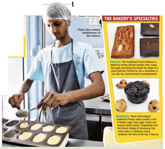 Shuktara Cakes article in the Times of India