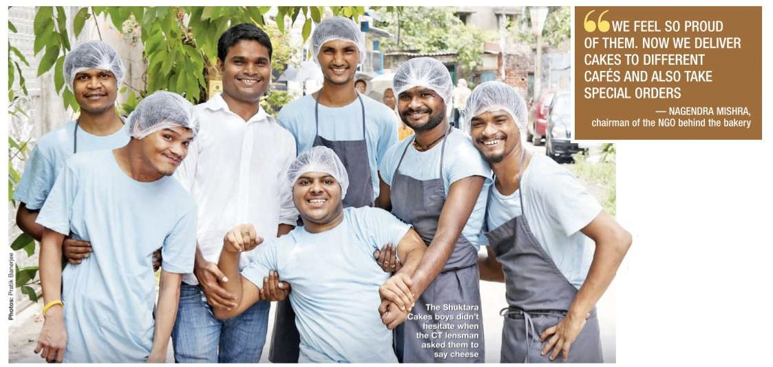 Times of India article about Shuktara Cakes - June 2017