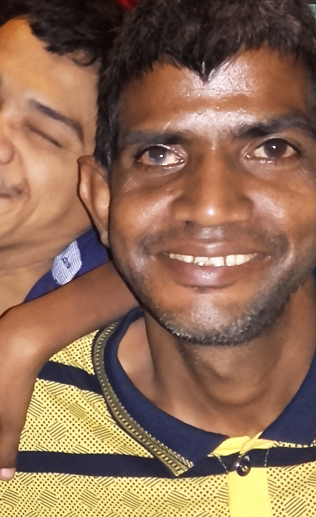 shuktara home for young adults with disabilities - 2016 October - Sunil and Ashok at Fire & Ice