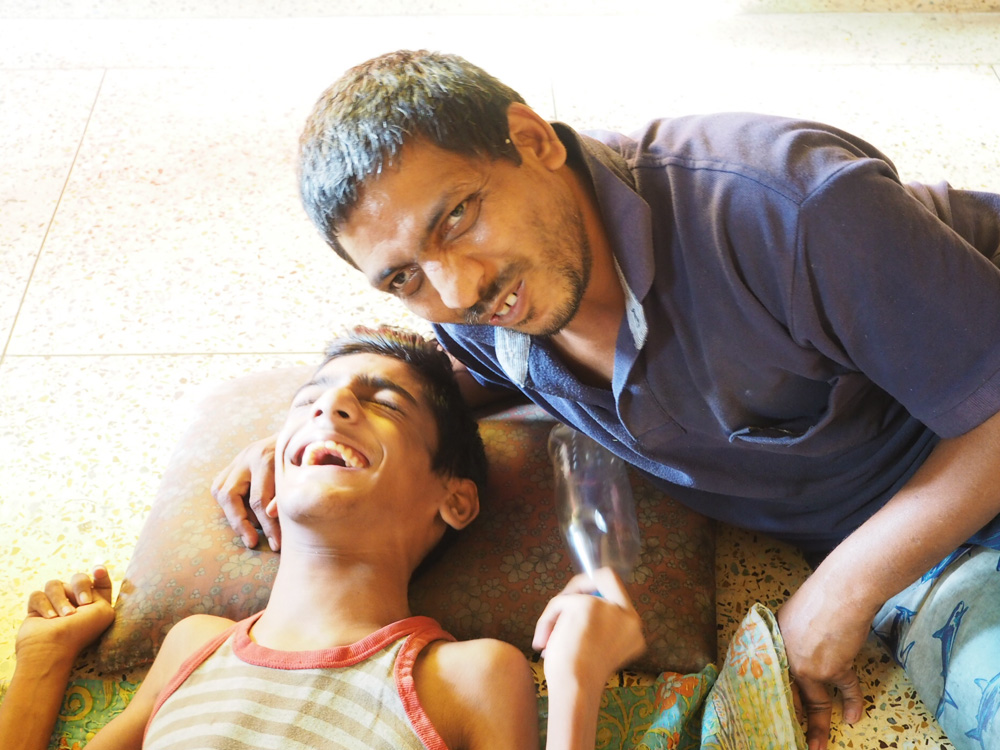 shuktara home for young people with disabilities - 2017 March - Ratan and Bablu Lal