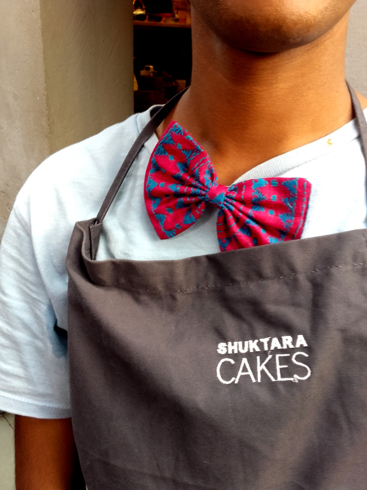 shuktara home for young adults with disability - 2016 November - Shuktara Cakes bow-tie